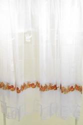 Hotové záclony (300x180 cm) KUCHYNSKÝ VZOR
