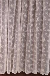 Hotové záclony (300x180 cm) MASLOVÉ KVETY