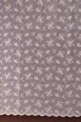 Hotové záclony (300x180 cm) MASLOVÉ KVETY #1