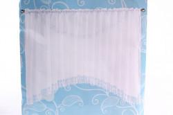 Hotové záclony DS072 (š. 400 cm, v. 170 cm) - biela