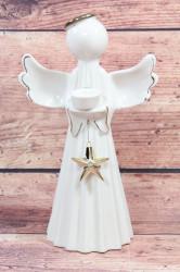 Keramický anjel