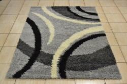 Koberec (120x170 cm) VZOR 3. - sivo-čierny