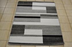 Koberec (120x170 cm) VZOR 4. - sivo-čierny