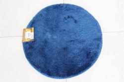 Koberec okrúhly SEBANO DAIRE (M11) - modrý (p. 65 cm)