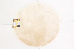 Koberec okrúhly SEBANO DAIRE (M2) - béžový (p. 65 cm)