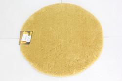 Koberec okrúhly SEBANO DAIRE PLAIN - žltý (p. 65 cm)
