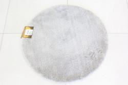 Koberec okrúhly SEBANO PLAIN (M-07) - bledosivý (p. 80 cm)