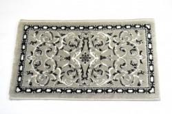 Koberec - sivý s čiernym  (70x40 cm)