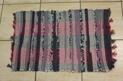 Koberec tkaný bavlnený VZOR 8. - farebný (45x75 cm)