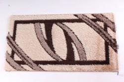 Koberec VZOR 3. - hnedo-béžový (60x110 cm)