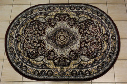 Koberec vzorovaný SULTAN (06865) - bordový (120x170 cm)