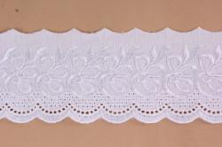 Krajka MADEIRA (š. 7 cm) - biela