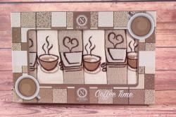 Kuchynské utierky v darčekovom balení COFFEE 3 (6 ks 30x50 cm)