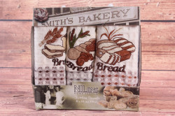 Kuchynské utierky v darčekovom balení NILENS - BREAD (3 ks 35x50 cm)