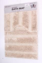 Kúpeľňová dvojdielna súprava (50x80 cm,50x40 cm) - béžová