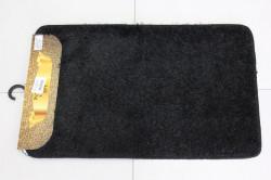 Kúpeľňová dvojdielna súprava SYNERGY - SIMSIZ PLAIN (S-11) - čierny (50x80 cm)