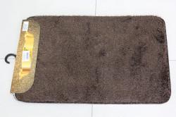 Kúpeľňová dvojdielna súprava SYNERGY - SIMSIZ PLAIN (S-4) - tmavohnedý (50x80 cm)