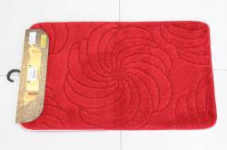 Kúpeľňová súprava SYMBOL-STRIPE ASMIN (37) - červený (50x80 cm)