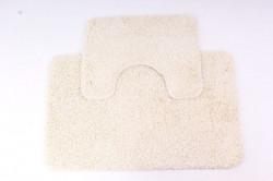 Kúpeľňový set (50x 80 cm) - krémový