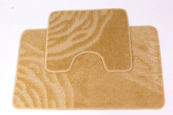Kúpeľňový set (60x100 cm) - zlatožltý