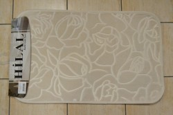 Kúpeľňový set - maslový (50x80 cm, 50x40 cm)