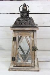 Lampáš - hnedý (v. 36 cm)