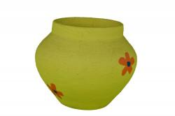 Malá žltá váza