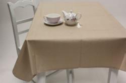 Obrus bavlnený (120x140 cm) - béžový
