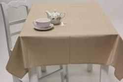 Obrus bavlnený (120x160 cm) - béžový