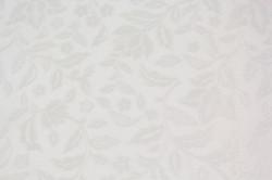 Obrus PVC potlačený vzor (š. 140 cm) - biely