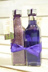Olej a soľ do kúpeľa LEVANDUĽA (2x100 ml) VZOR 1.