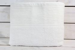 Osuška VZOR 4. (69x138 cm) - vanilková