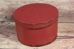 Ozdobná krabica - bordová (p. 17 cm, v. 10 cm)