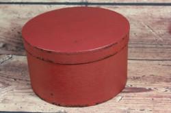 Ozdobná krabica - bordová (p. 19 cm, v. 11 cm)