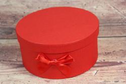 Ozdobná krabica - červená (p. 17 cm, v. 10 cm)