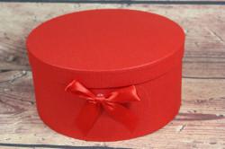 Ozdobná krabica - červená (p. 20,5 cm, v. 12 cm)