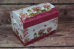 Ozdobná krabica PINK (18x13,5x12 cm) #1