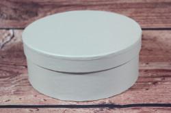 Ozdobná krabica - tyrkysová (v. 6 cm, p. 15 cm)