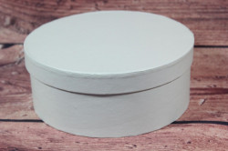 Ozdobná krabica - tyrkysová (v. 8 cm, p. 20 cm)