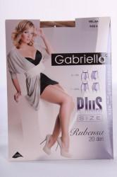 Pančuchové nohavice GABRIELLA - RUBENSA 20 DEN - melisa