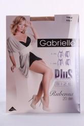 Pančuchové nohavice GABRIELLA - RUBENSA 20 DEN - sable (LYCRA)