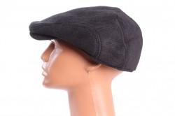 Pánska baretka menčestrová (18-197) - čierna
