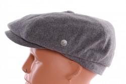 Pánska baretka VZOR 2. - bledosivá
