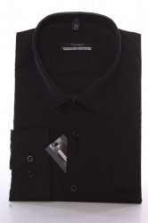 Pánska košeľa CENZO CLASSIC -čierna #1