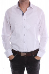 Pánska košeľa PIETRO MONTI VZOR 2. SLIM - biela (v. 176-182 cm)