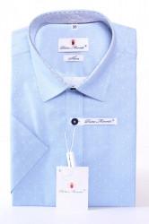 41cbb783da9c Pánska košeľa s bodkami PIETRO MONTI SLIM - bledomodrá