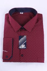 Pánska košeľa VZOR 1. - bordová