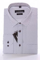 Pánska košeľa VZOR 1. CENZO SLIM LINE - biela