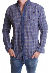 Pánska košeľa VZOR 1. - modrá