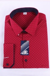 Pánska košeľa VZOR 2. - bordová